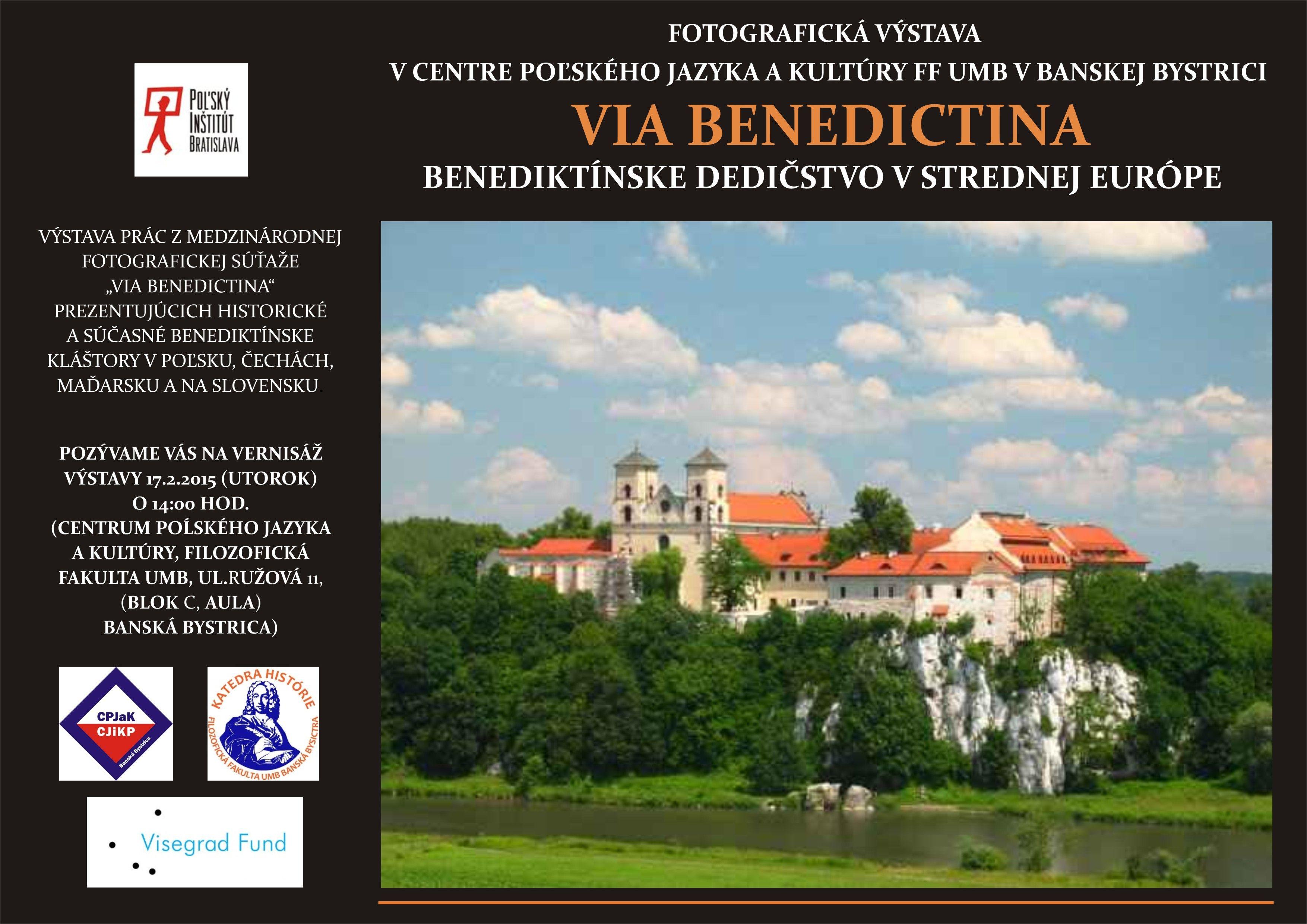 Benediktíni v strednej Európe - pozvánka na otvorenie výstavy