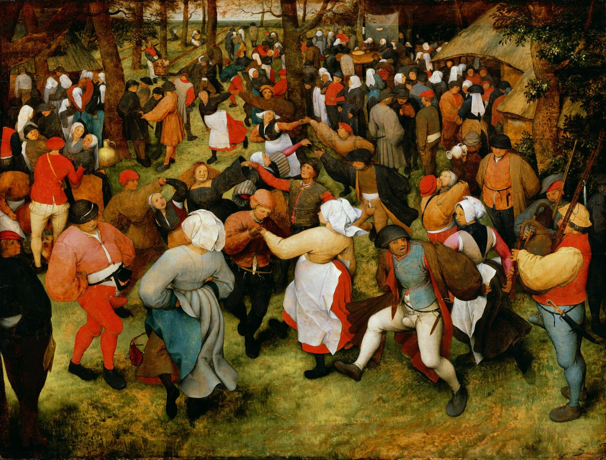 Pieter Bruegel - Svadobný tanec