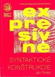Expresívne syntaktické konštrukcie