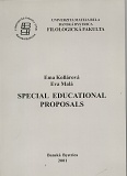 Special Educational Proposals