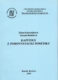 Kapitoly z porovnávacej fonetiky